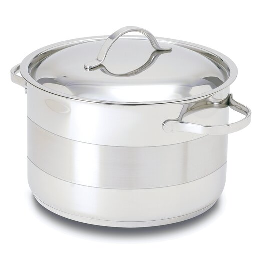 Cuisinox Gourmet 8.5-qt. Stainless Steel Round Dutch Oven