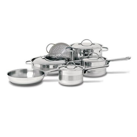 Cuisinox Gourmet 3-Ply Stainless Steel 10-Piece Cookware Set