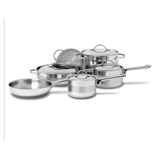 Cuisinox Gourmet Stainless Steel Round Dutch Oven