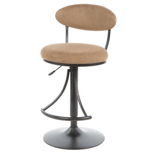 Hillsdale Venus Adjustable Height Swivel Bar Stool With