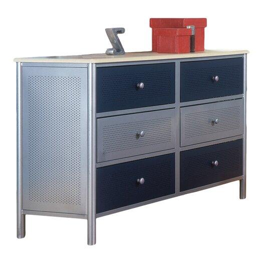Hillsdale Furniture Universal Youth 6-Drawer Dresser