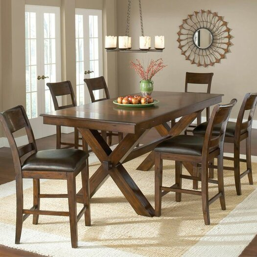 Hillsdale Furniture Park Avenue 7 Piece Counter Height Dining Set