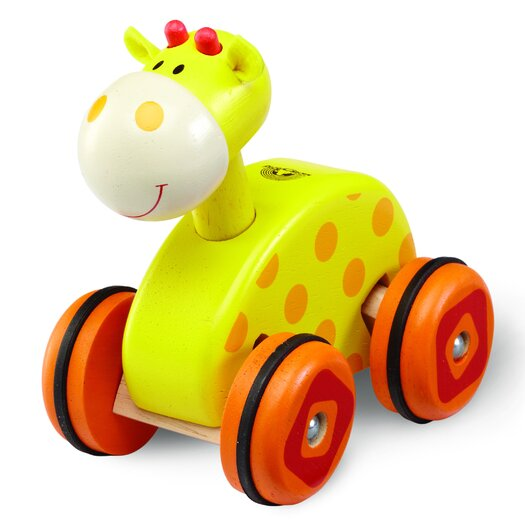 Wonderworld Giraffe Wheely Push/Scoot Ride-On