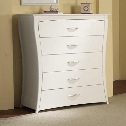 PALI Trieste 5-Drawer Dresser
