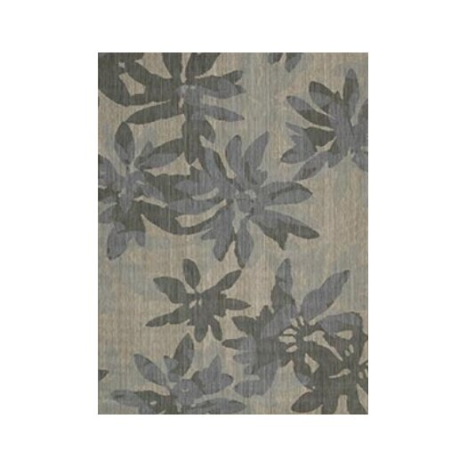 Calvin Klein Home Rug Collection Urban Vapor Winter Flower Area Rug