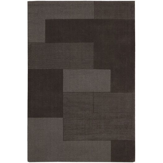 Calvin Klein Home Rug Collection Bowery Dark Grey Step Rug