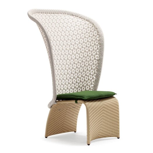 100 Essentials Exotica High Back Lounge Chair with Cushion