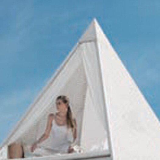 100 Essentials Palace Pyramid Daybed with Cushions