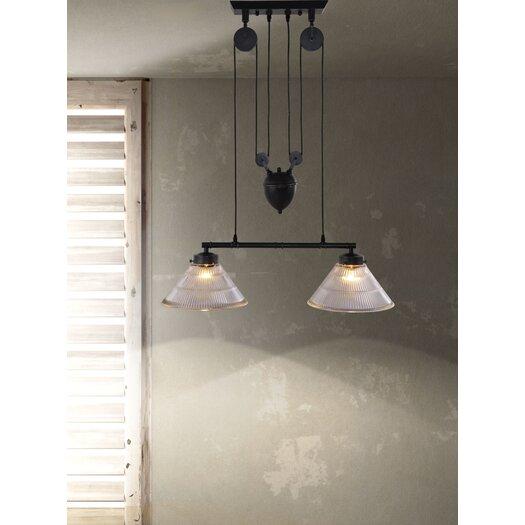 Zuo Era Garnet 2 Light Ceiling Lamp