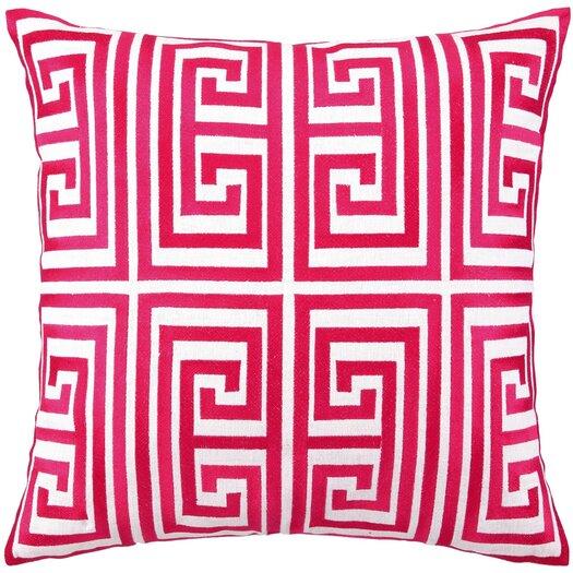 Trina Turk Residential Greek Key Linen Pillow