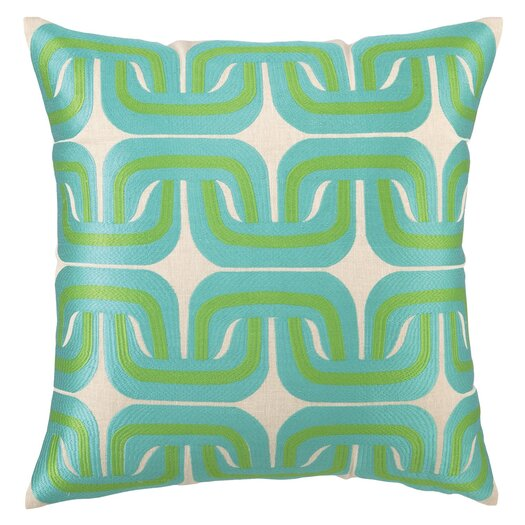 Trina Turk Residential Geo Links Linen Pillow