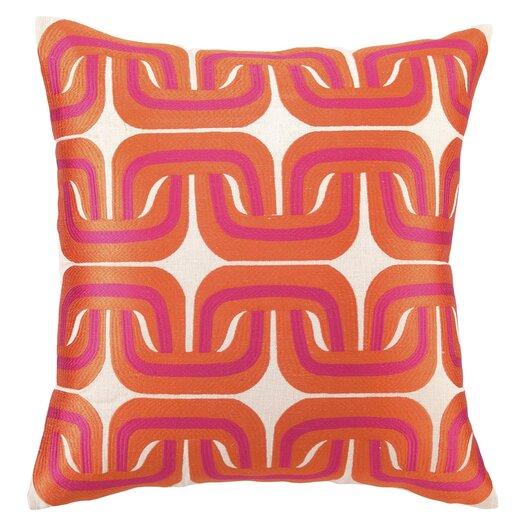 Trina Turk Residential Geo Links Linen Pillow