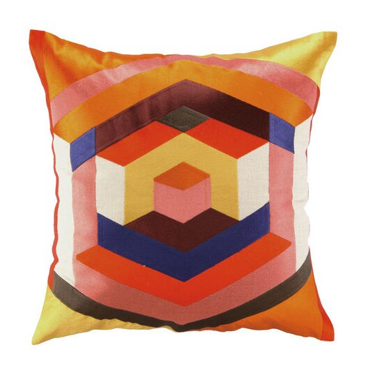 Trina Turk Residential Hexagon Linen Throw Pillow