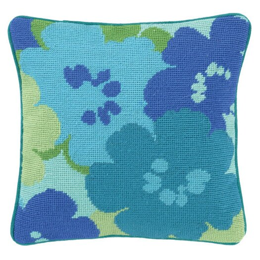 Trina Turk Residential Floral Linen Throw Pillow