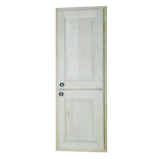 """WG Wood Products Baldwin 15.5"""" x 43.5"""" Recessed Cabinet"""