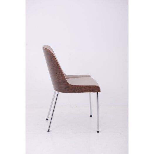 Hudson Side Chair with Steel Legs