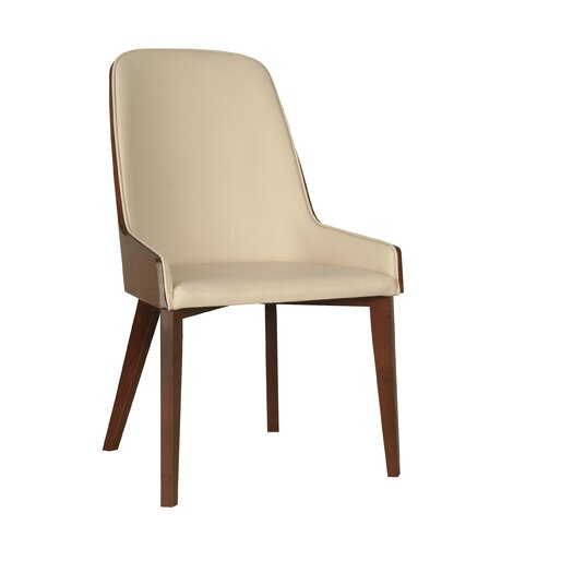 Hudson Side Chair with Wood Legs