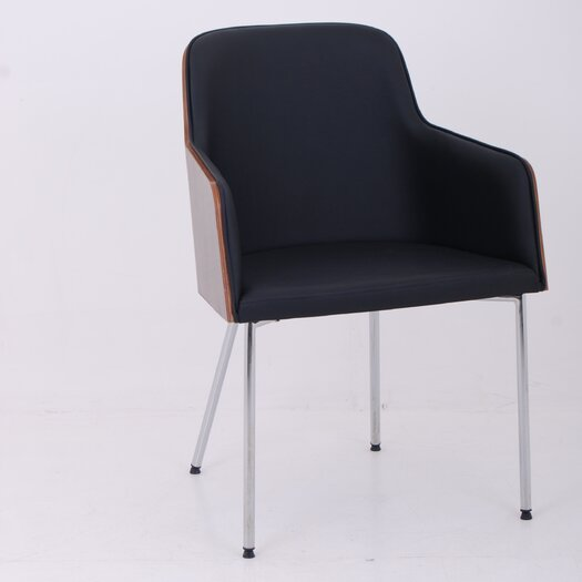 Hudson Arm Chair with Steel Legs