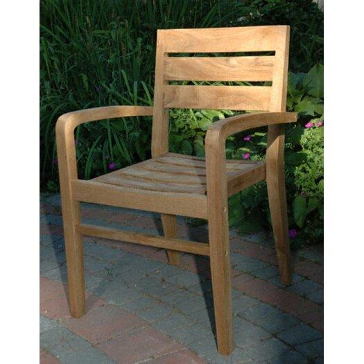 Regal Teak Ventura Stacking Arm Chair