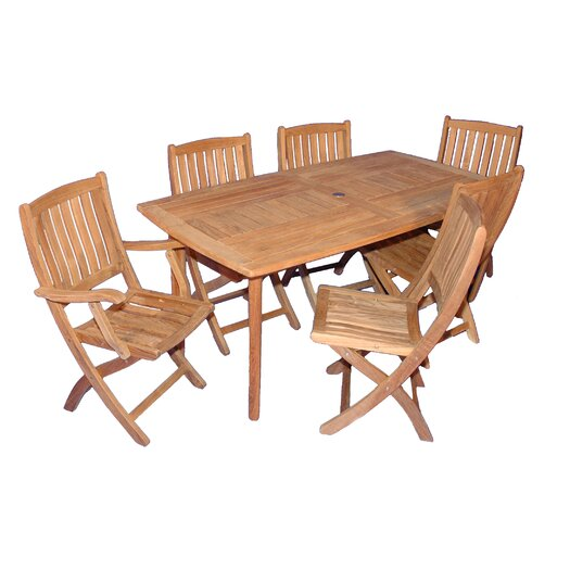 Regal Teak San Marco 7 Piece Dining Set