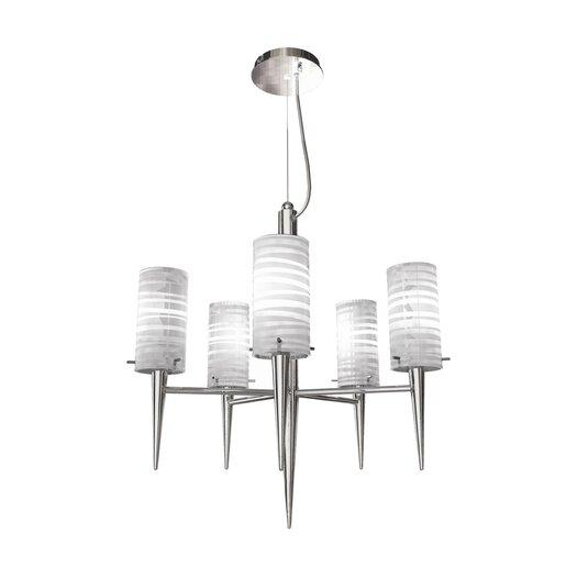 Bazz Inciso 5 Light Chandelier