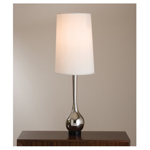 "Global Views Bulb Vase 50.5"" H Table Lamp with Empire Shade"