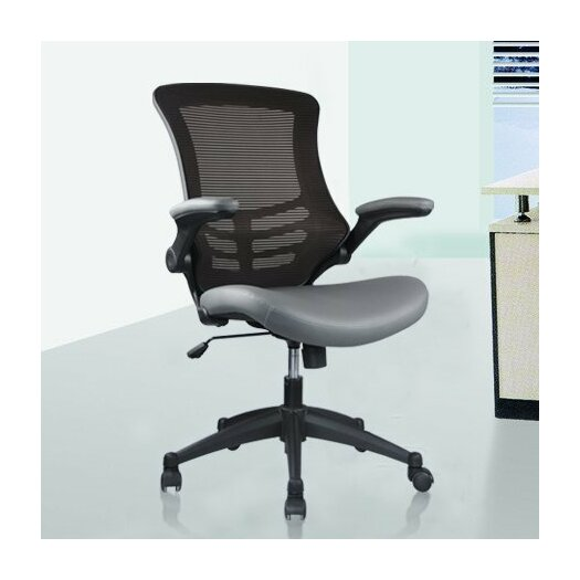 Manhattan Comfort Luxurious High-back Mesh Conference Chair with Casters