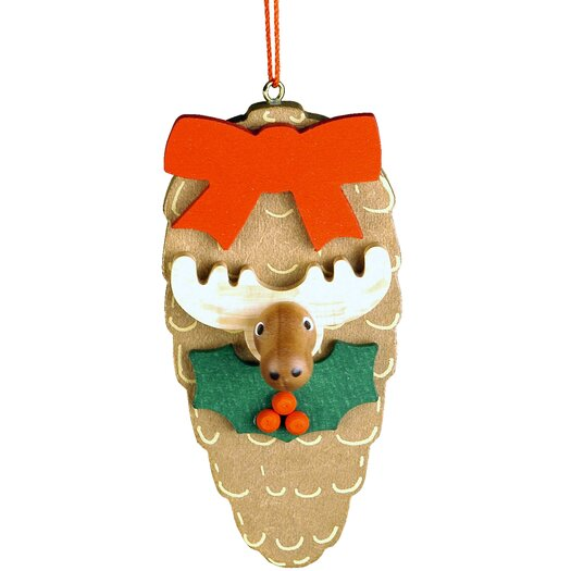 Christian Ulbricht Elk Pinecone Ornament