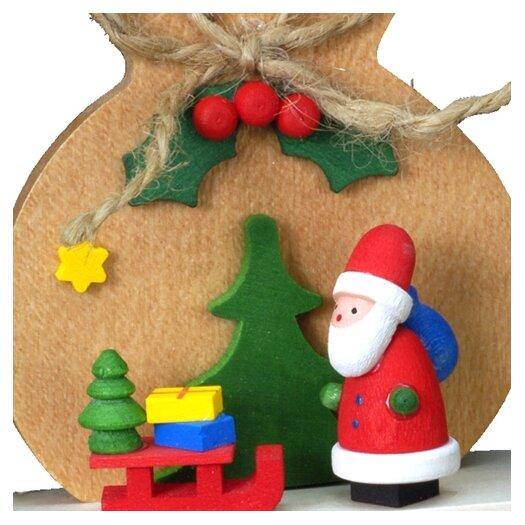Alexander Taron Christian Ulbricht Brown Sack with Santa Ornament