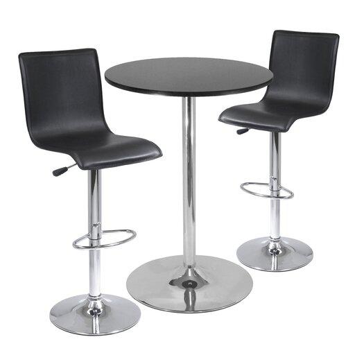 Winsome 3 Piece Pub Table Set
