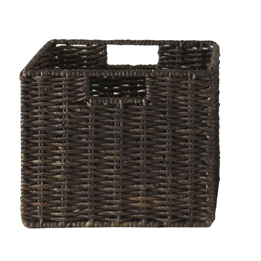 Winsome Granville Foldable Small Corn Husk Basket