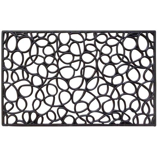 Entryways Recycled Rubber Loop Doormat