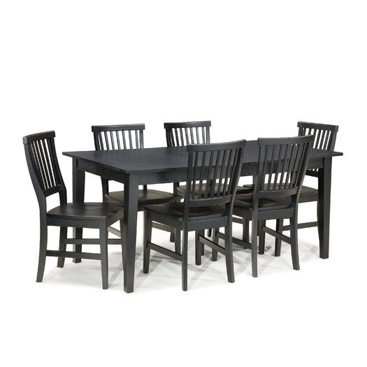 Home Styles Arts and Crafts 7 Piece Dining Set