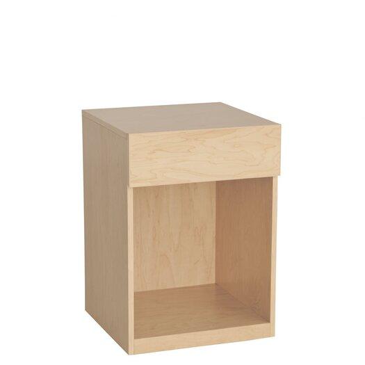 Urbangreen Furniture Urban Basics 1 Drawer Nightstand