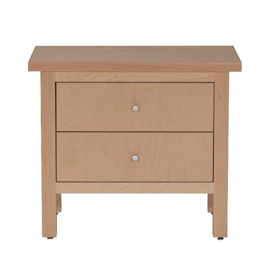 Urbangreen Furniture Hudson 2 Drawer Nightstand