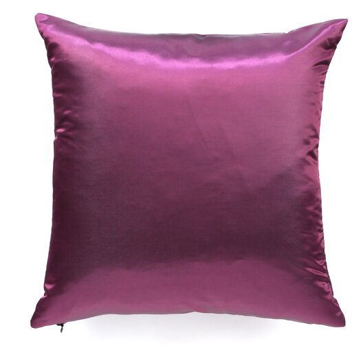 The Pillow Collection Rosamund Solid Silk Throw Pillow