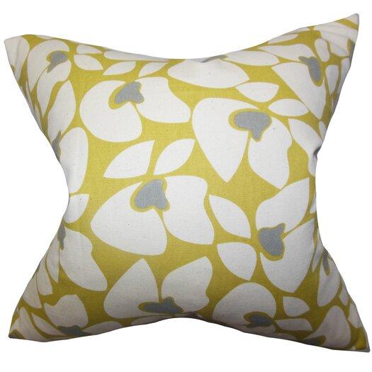 The Pillow Collection Zaza Geometric Cotton Throw Pillow