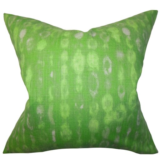 The Pillow Collection Verve Geometric Cotton Throw Pillow