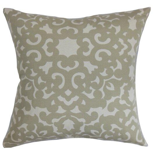The Pillow Collection Wilona Cotton Throw Pillow