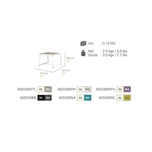 Mamagreen Allux Footrest
