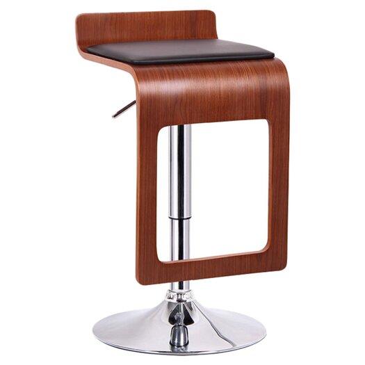 Wholesale Interiors Baxton Studio Adjustable Height Swivel Bar Stool