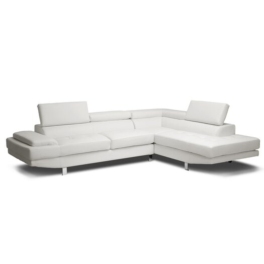 Wholesale Interiors Baxton Studio Right Hand Facing Sectional