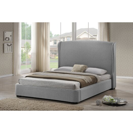 Wholesale Interiors Baxton Studio Sheila Upholstered Platform Bed
