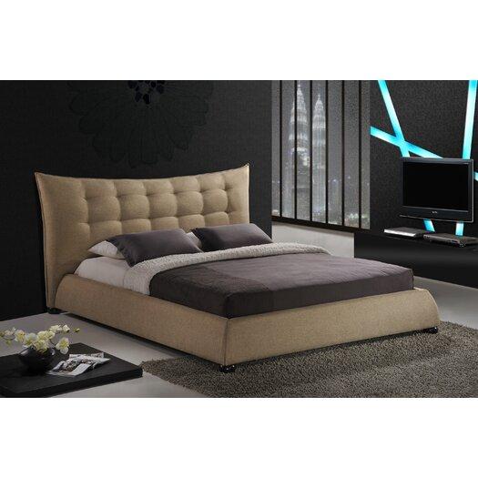 Wholesale Interiors Baxton Studio Marguerite Upholstered Panel Bed