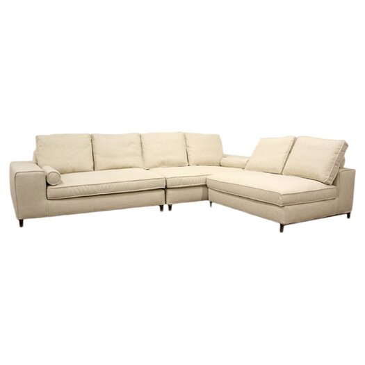 Wholesale Interiors Baxton Studio Chomp Reversible Sectional