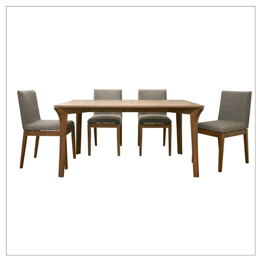 Wholesale Interiors Baxton Studio Mier 5 Piece Dining Table