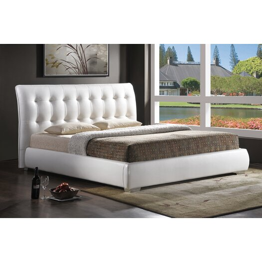 Wholesale Interiors Jeslyn Upholstered Panel Bed