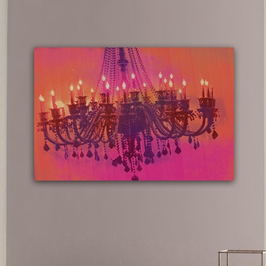 Oliver Gal Runway Avenue Light me up Graphic Art on Canvas