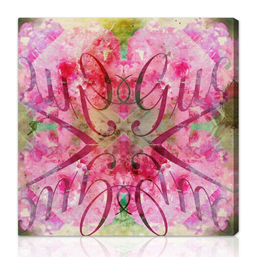 Oliver Gal Oliver Gal Efflorescent Bomb Graphic Art on Wrapped Canvas