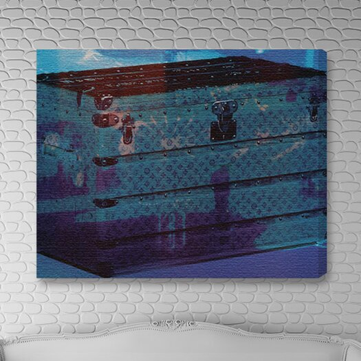 Oliver Gal Burst Creative Voyage into the Water Graphic Art on Wrapped Canvas